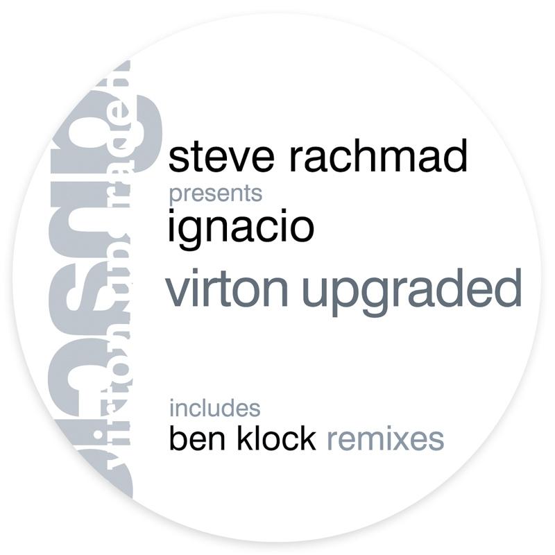 Cover art - Steve Rachmad: Virton Upgraded