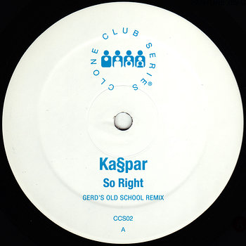 Cover art - Kaspar: So Right