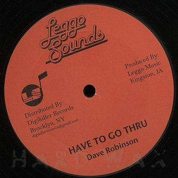 Cover art - Dave Robinson: Have To Go Thru