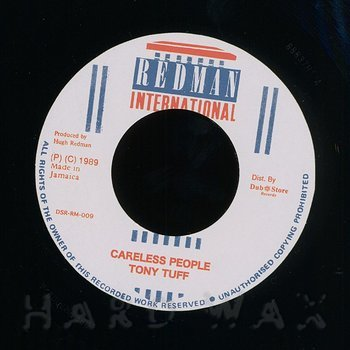 Cover art - Tony Tuff: Careless People