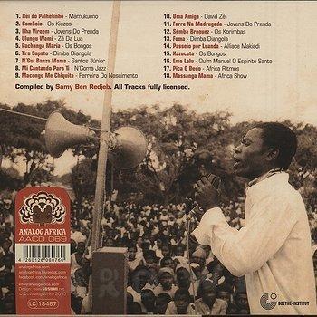 Cover art - Various Artists: Angola Soundtrack - The Unique Sound Of Luanda (1968-1976)