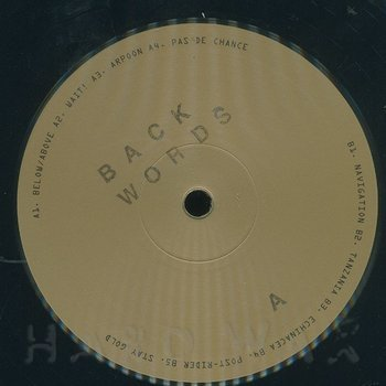 Cover art - Backwords: Tre
