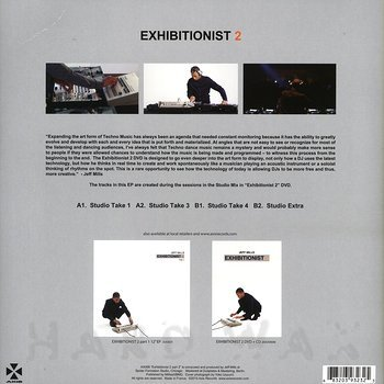 Cover art - Jeff Mills: Exhibitionist 2 (Part 2)