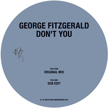 Cover art - George Fitzgerald: Don't You