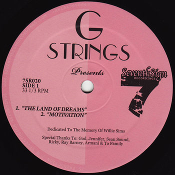 Cover art - G Strings: The Land Of Dreams