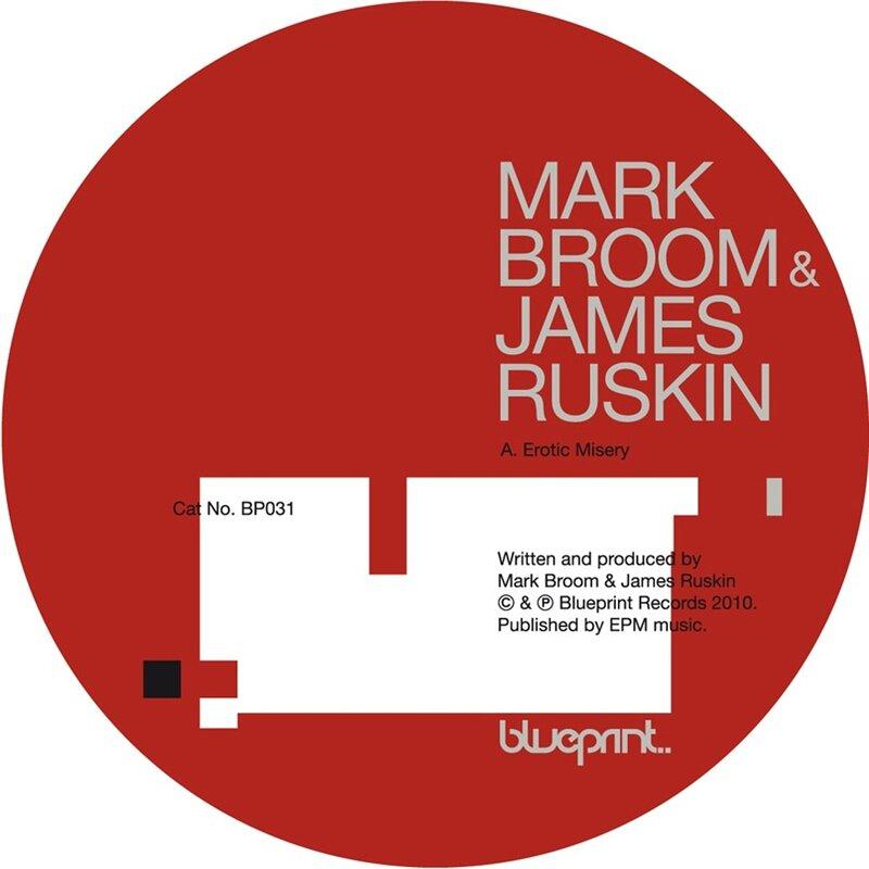 Cover art - Mark Broom & James Ruskin: Erotic Misery
