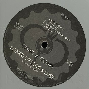 Cover art - Chris & Cosey: Songs Of Love And Lust