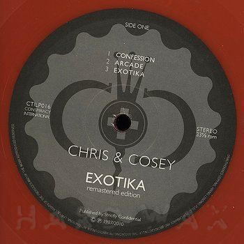Cover art - Chris & Cosey: Exotika