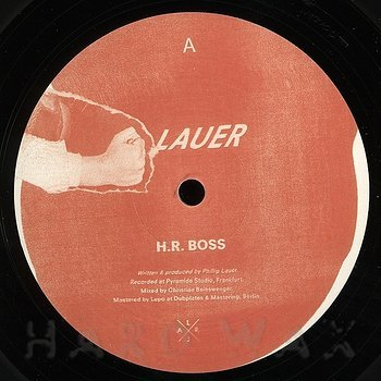 Cover art - Lauer: H.R. Boss