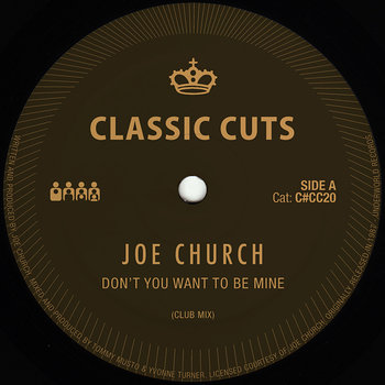 Cover art - Joe Church: Don't You Want To Be Mine