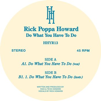 Cover art - Rick Howard: Do What You Have To Do