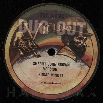 Cover art - Sugar Minott: Sheriff John Brown