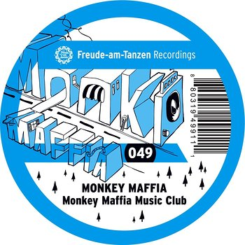 Cover art - Monkey Maffia: Monkey Maffia Music Club