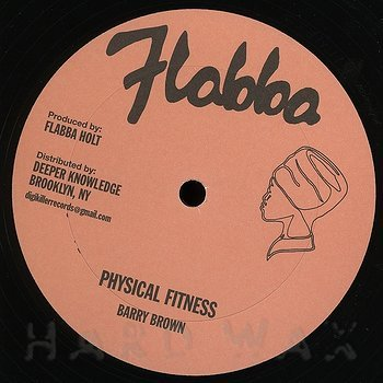 Cover art - Barry Brown: Physical Fitness