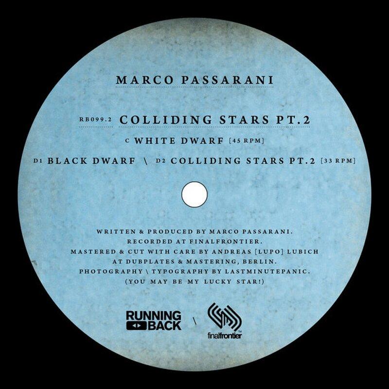 Cover art - Marco Passarani: Colliding Stars Pt. 2