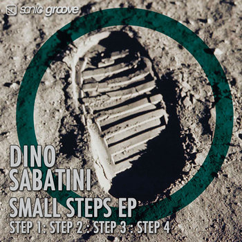 Cover art - Dino Sabatini: Small Steps EP