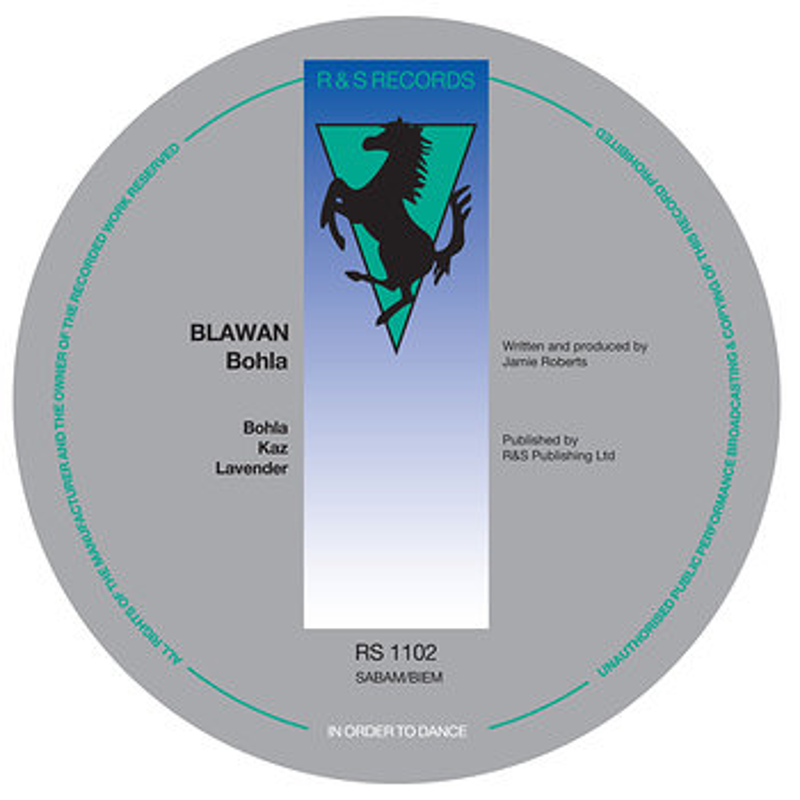 Cover art - Blawan: Bohla EP