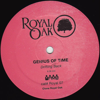 Cover art - Genius Of Time: Drifting Back
