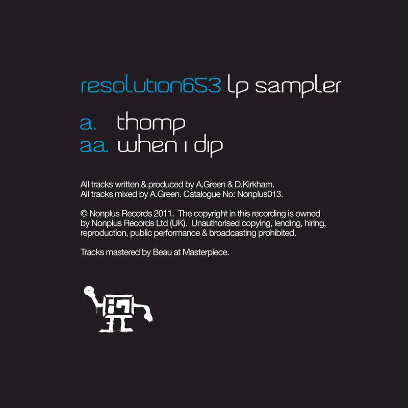Cover art - Instramental: Resolution 653 LP Sampler