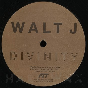 Cover art - Walt J: Divinity