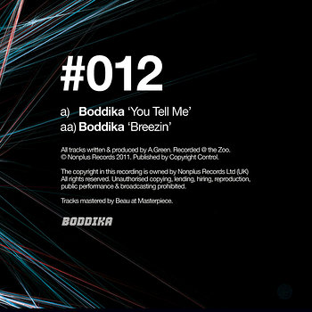 Cover art - Boddika: You Tell Me
