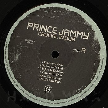 Cover art - Prince Jammy: Crucial In Dub