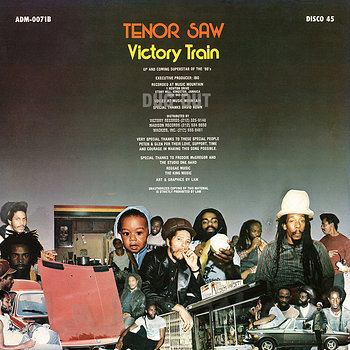 Cover art - Tenor Saw: Victory Train
