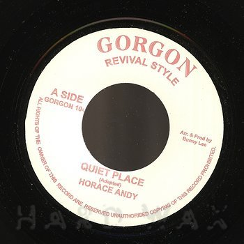 Cover art - Horace Andy: Quiet Place
