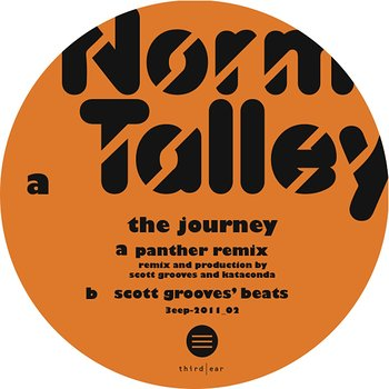 Cover art - Norm Talley: The Journey Remix