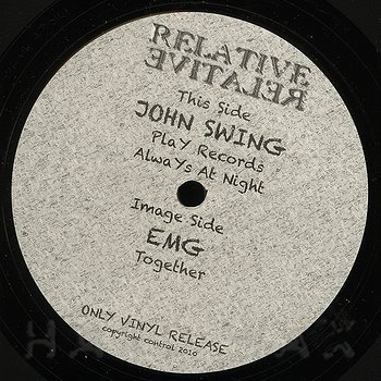 Cover art - John Swing: Play Records