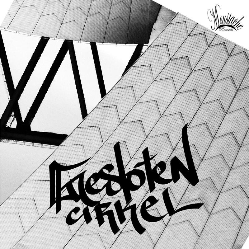 Cover art - Gesloten Cirkel: Moustache Techno 001