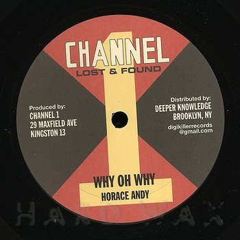 Cover art - Horace Andy: Why Oh Why