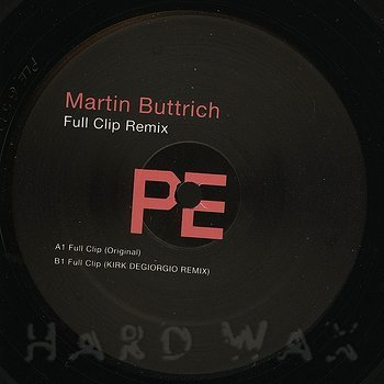 Cover art - Martin Buttrich: Full Clip Remix
