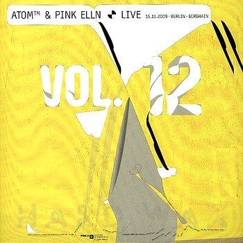 Cover art - Atom™ & Pink Elln: Live Volume 12 - 15.11.2009 Berlin Berghain