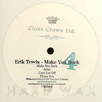Cover art - Erik Travis: Make You Rock