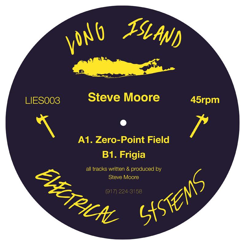 Cover art - Steve Moore: Zero-Point Field EP