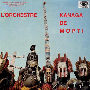Cover art - L'Orchestre Kanaga De Mopti: Kanaga De Mopti