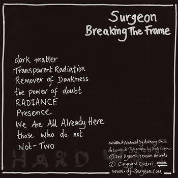 Cover art - Surgeon: Breaking The Frame