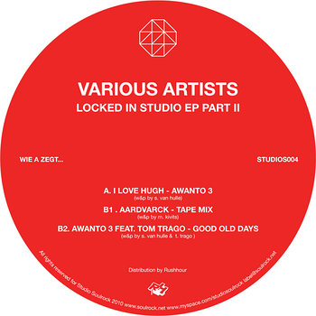 Cover art - Various Artists: Locked In The Studio Pt. 2 EP