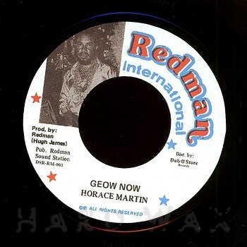 Cover art - Horace Martin: Geow Now