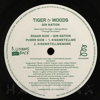 Cover art - Tiger & Woods: Gin Nation