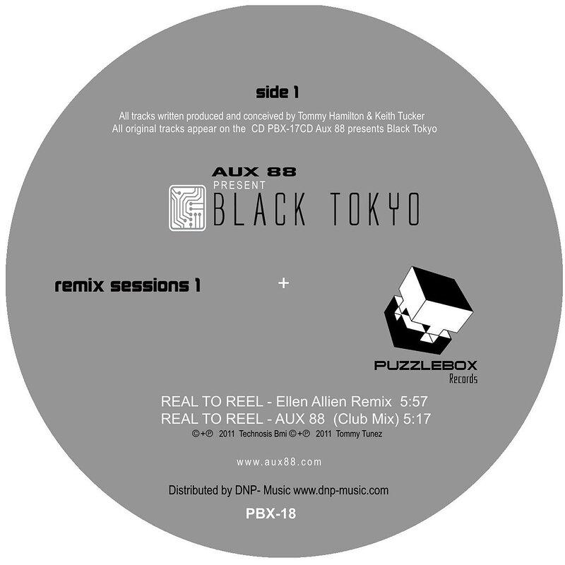 Cover art - Aux 88: Present Black Tokyo Remix Sessions 1
