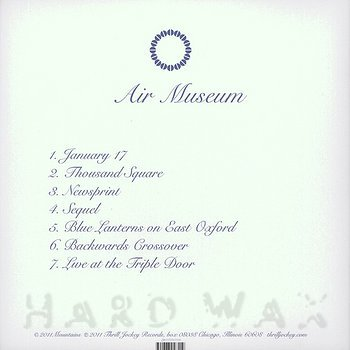 Cover art - Mountains: Air Museum