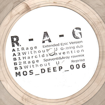 Cover art - R-A-G: Rage EP