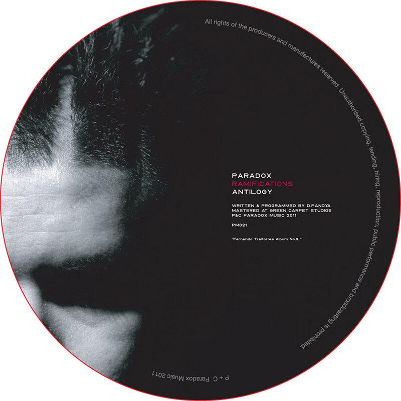 Cover art - Paradox: Ramifications LP Sampler