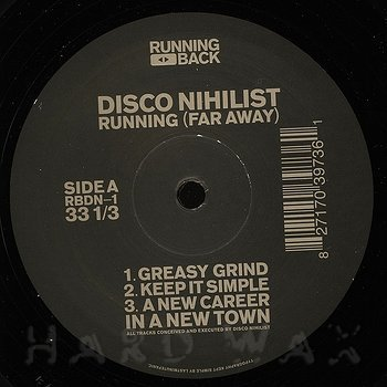 Cover art - Disco Nihilist: Running (Far Away)