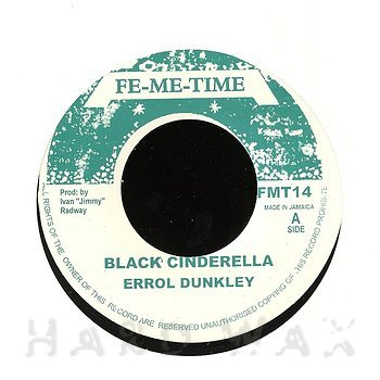 Cover art - Errol Dunkley: Black Cinderella