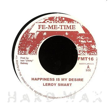 Cover art - Leroy Smart: Happiness is My Desire
