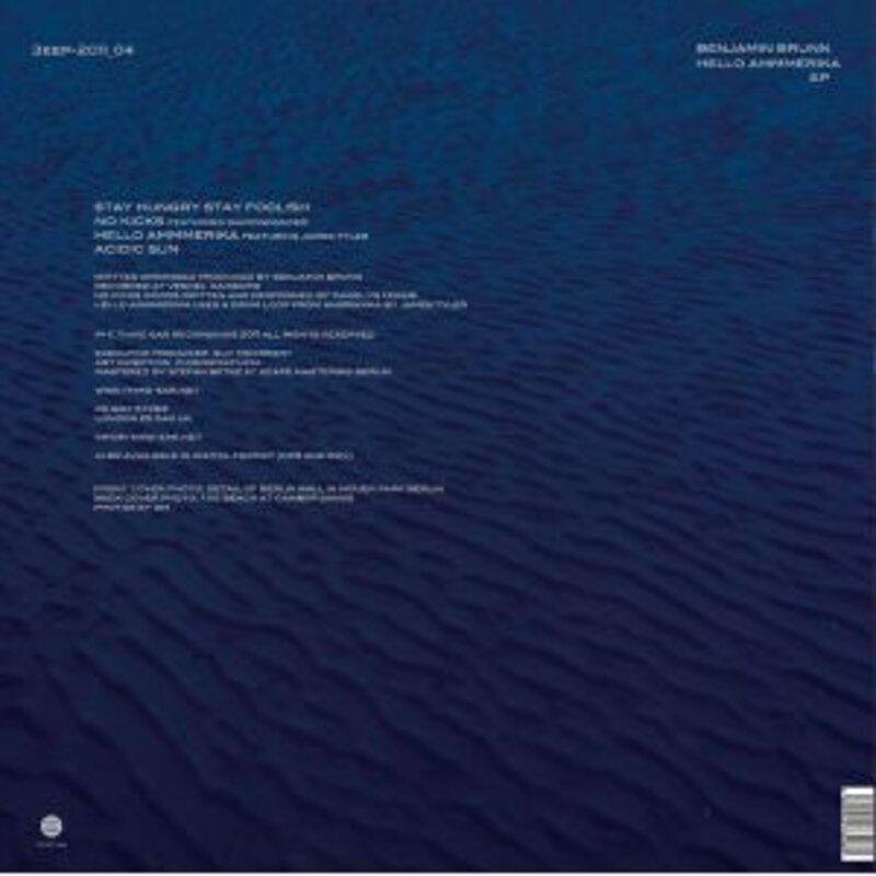 Cover art - Benjamin Brunn: Hello Ammmerika EP