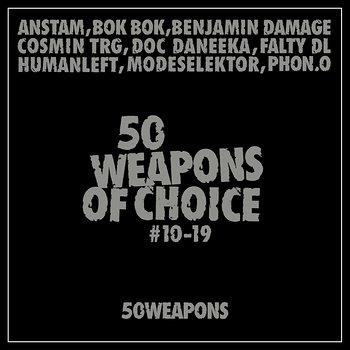 Cover art - Various Artists: 50 Weapons Of Choice #10-19